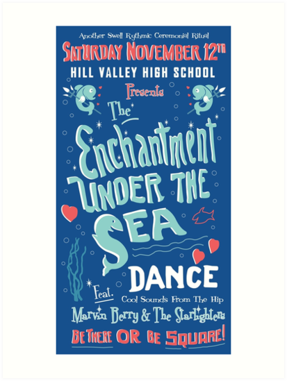 Enchantment Under the Sea - Original HD Poster by Candywrap Design