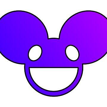 Deadmau5 Logo - Pink by mullelito
