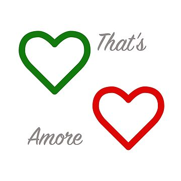 That's Amore Italian Hearts by tinoriccio