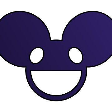 Deadmau5 Logo - Purple by mullelito