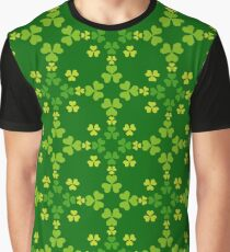 St.Patrick's Day green seamless Graphic T-Shirt