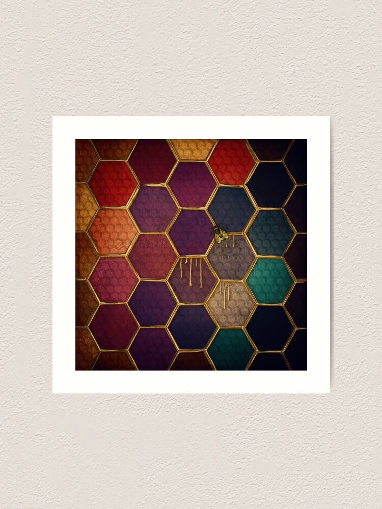 Alternate view of Nectar and Bees Art Print