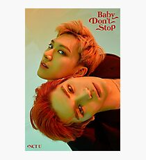 BABY DON'T STOP TEN & TAEYONG Photographic Print