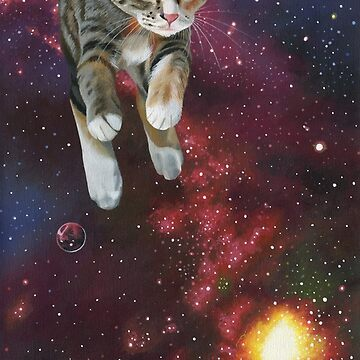 Space Kitty by susanvansant
