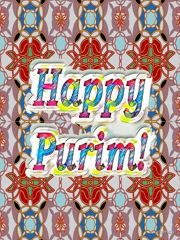 Happy Purim! pattern by znamenski