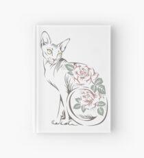 Cat sphinx Hardcover Journal