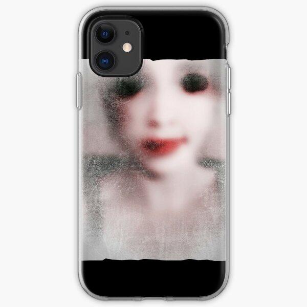 MonGhost I [V3 grey] iPhone Soft Case