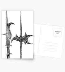 Rossschinder and Helmbarte Postcards