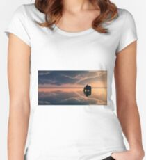 Calm Women's Fitted Scoop T-Shirt