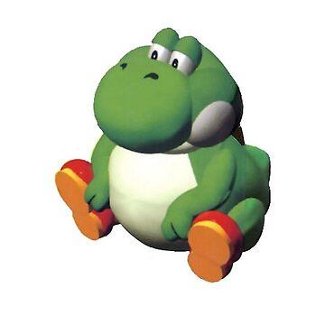 Fat Yoshi by vanobras