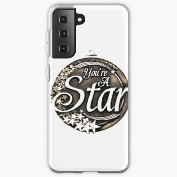 You are a star medal Samsung Galaxy Soft Case