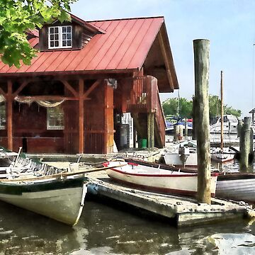 Rowboats by Founders Park Alexandria VA by SudaP0408