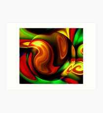 Gravitate Art Print