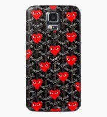 love red goyard Case/Skin for Samsung Galaxy
