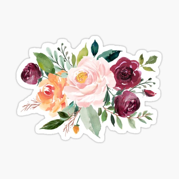 Floral Bouquet Sticker