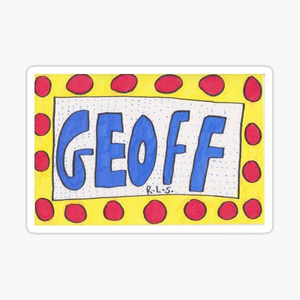 Geoff Sticker