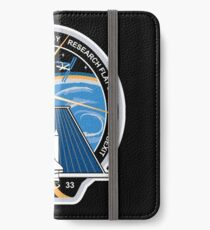 Space Mission Parody Patch No. 2 iPhone Wallet/Case/Skin