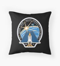 Space Mission Parody Patch No. 2 Throw Pillow