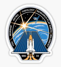 Space Mission Parody Patch No. 2 Sticker