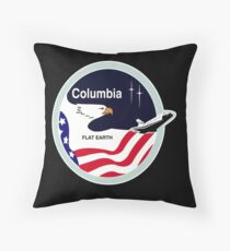 Space Mission Parody Patch No. 3 Throw Pillow