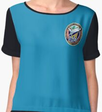 Space Mission Parody Patch No. 4 Chiffon Top