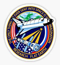Space Mission Parody Patch No. 4 Sticker