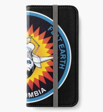 Space Mission Parody Patch No. 5 iPhone Wallet/Case/Skin
