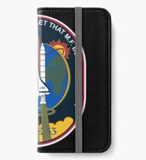 Space Mission Parody Patch No. 6 iPhone Wallet/Case/Skin