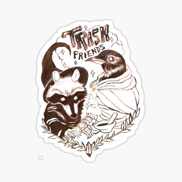 Trash Friends Sticker