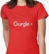 Clear Out That Bad Taste With Gurgle+  Women's Fitted T-Shirt