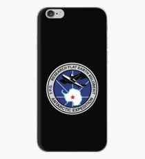 Space Mission Parody Patch No. 9 iPhone Case