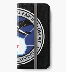 Space Mission Parody Patch No. 9 iPhone Wallet/Case/Skin