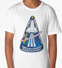 Space Mission Parody Patch No. 10 Long T-Shirt