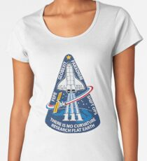 Space Mission Parody Patch No. 10 Women's Premium T-Shirt