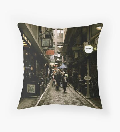 Centre Place Throw Pillow