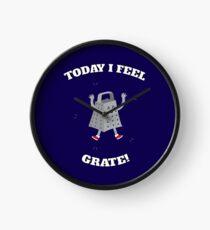 Feel Grate! Clock
