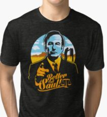 Better Call Saul Tri-blend T-Shirt