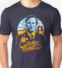 Ruf lieber Saul an Slim Fit T-Shirt