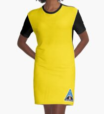 Space Mission Parody Patch No. 8 Graphic T-Shirt Dress