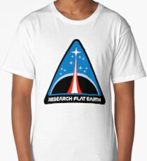 Space Mission Parody Patch No. 8 Long T-Shirt