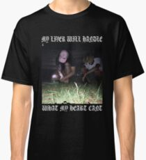 $uicideboy$ MY LIVER WILL HANDLE WHAT MY HEART CANT (white)  Classic T-Shirt