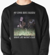 $uicideboy$ MY LIVER WILL HANDLE WHAT MY HEART CANT (white)  Pullover