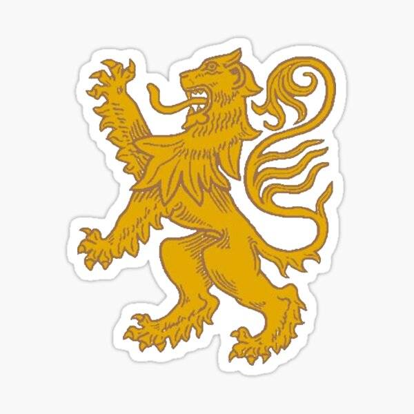 Red lion heraldry, Coat of arms, #Red, #lion, #heraldry, #Coat, #arms, #Redlionheraldry, #Coatofarms, #RedLion, #courage, #nobility, #royalty, #strength, #stateliness, #valour, #symbolism Sticker