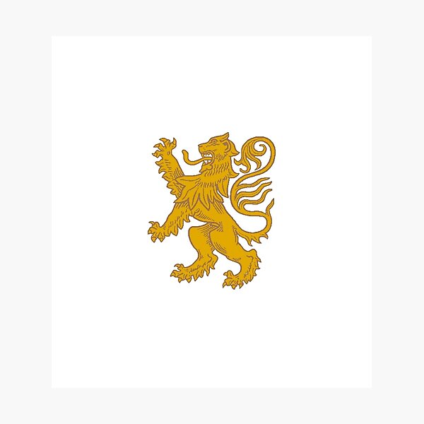 Red lion heraldry, Coat of arms, #Red, #lion, #heraldry, #Coat, #arms, #Redlionheraldry, #Coatofarms, #RedLion, #courage, #nobility, #royalty, #strength, #stateliness, #valour, #symbolism Photographic Print
