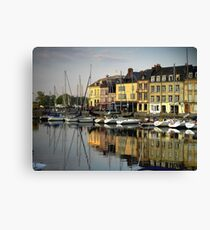 Honfleur Harbour, France Canvas Print
