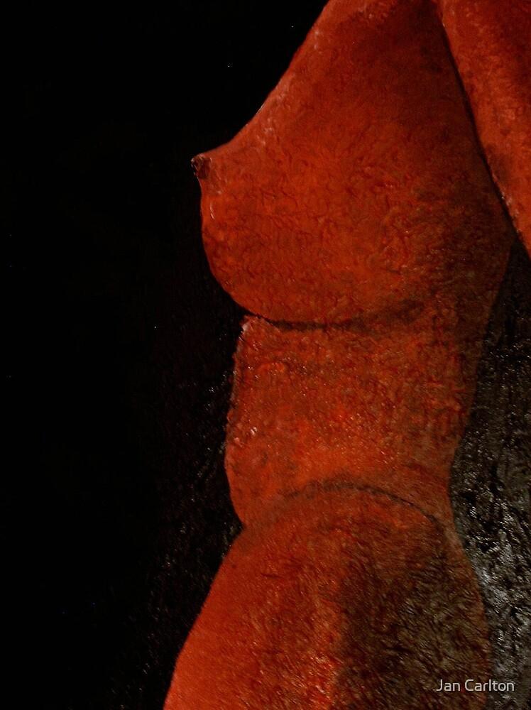 Red Torso by Jan Carlton