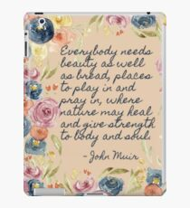 A Place to Pray and Play iPad Case/Skin