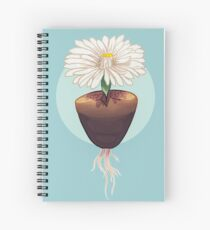 The Humble & Beautiful Lithops Plant Spiral Notebook