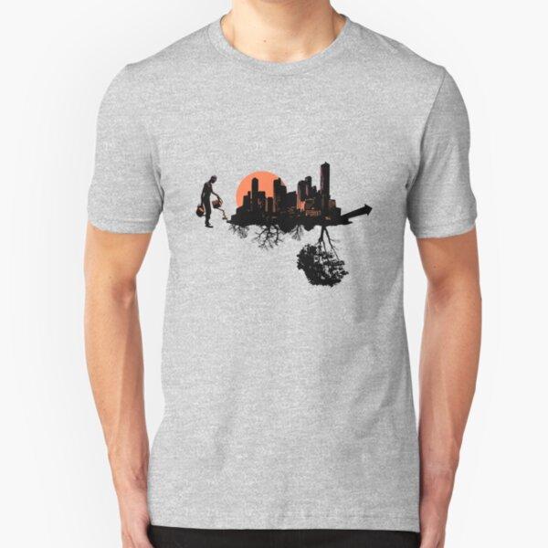 Backbone of Society Growth T-Shirt Slim Fit T-Shirt
