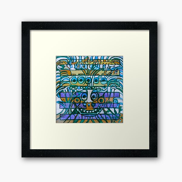Hexagram 42: Yì  (Increase) Framed Art Print